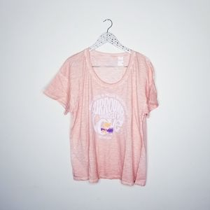 Pink x Knit: Woodstock Anniversary Band Tee